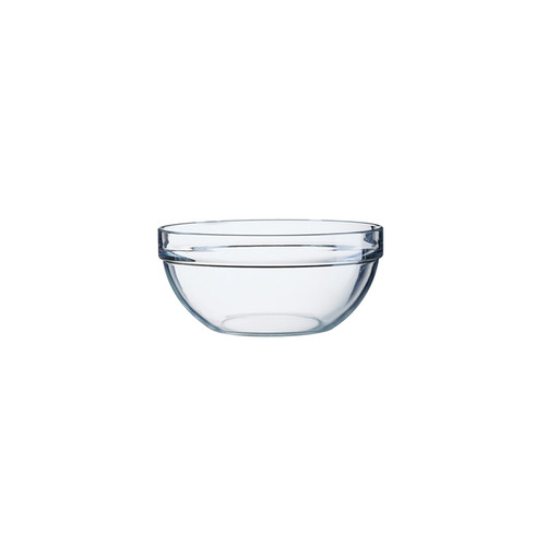 Stackable Glass Mixing Bowl, 3.5-in