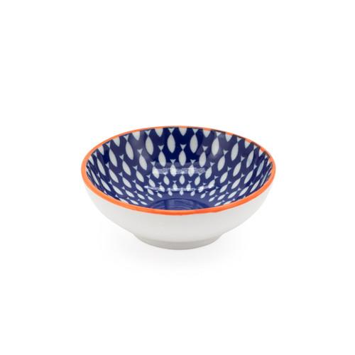Kiri Porcelain Sauce Dish - Fish, 3-in