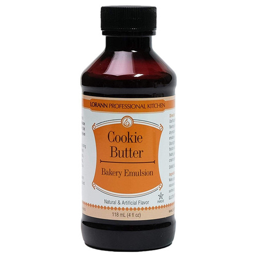 Bakery Emulsion - Cookie Butter, 4oz