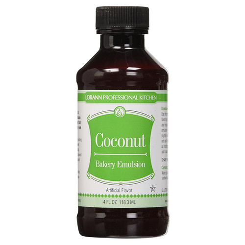 Bakery Emulsion - Coconut, 4oz