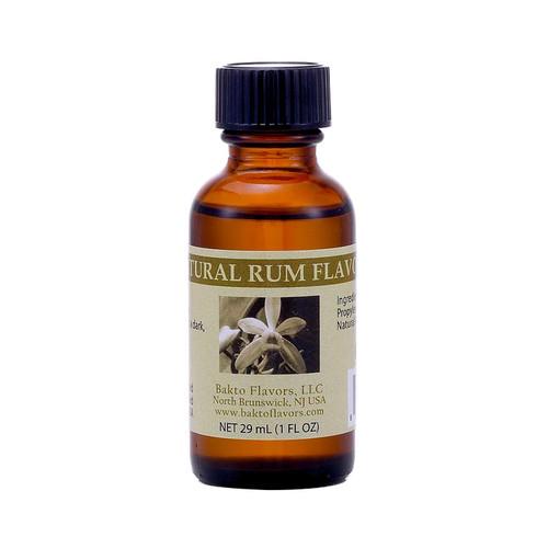 Rum Natural Flavor, 1oz