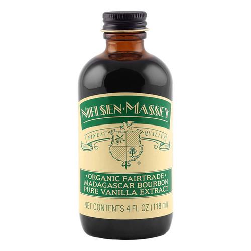 Madagascar Bourbon Pure Vanilla Extract - Organic, 4oz
