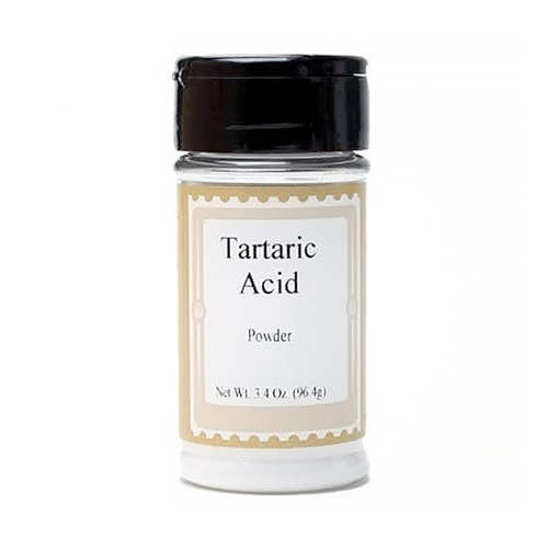 Tartaric Acid - Powder, 3.40z