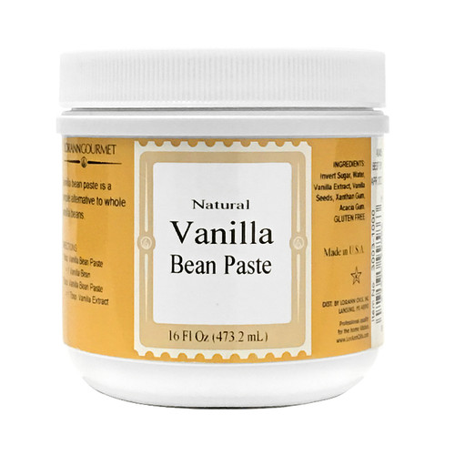 Natural Vanilla Bean Paste, 16oz
