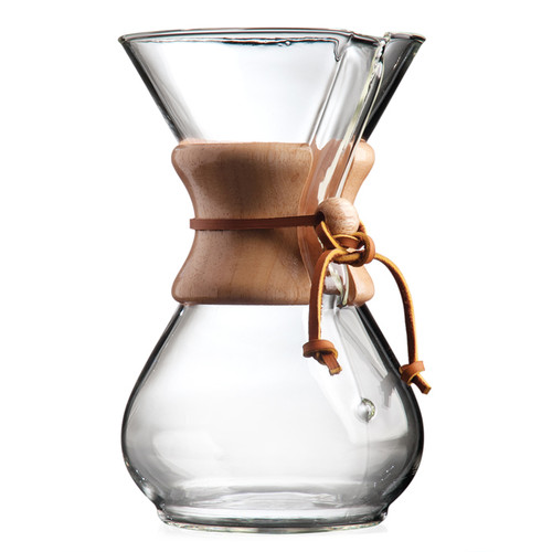 Classic Pour Over Coffee Maker, 6-Cup