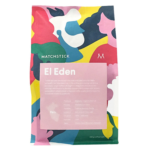 El Eden Peru - Coffee Bean, 340g
