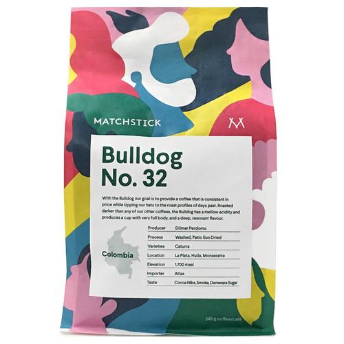 Bulldog No. 32 Colombia - Coffee Bean, 340g