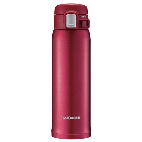 Stainless Mug Tumbler - Clear Red, 16oz
