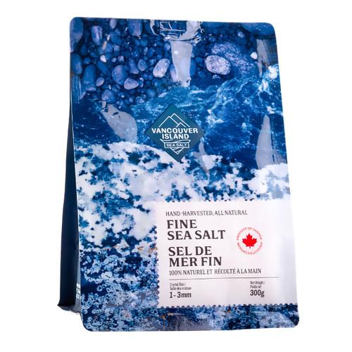 Fine Sea Salt - Hand-Harvested, 300g
