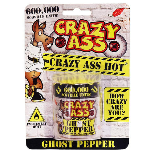 Pure Ground Ghost Pepper, 21g