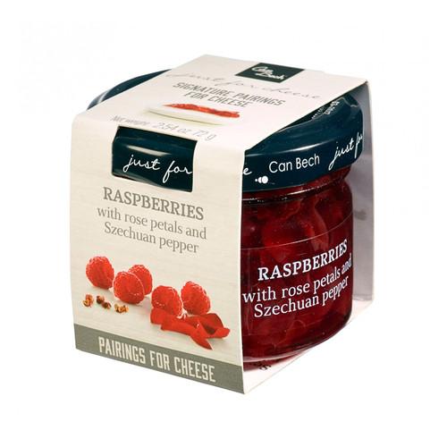 Raspberries - Rose+Pepper Sweet Sauce, 72g