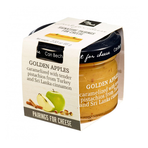 Golden Apples - Pistachios+Cinnamon Sweet Sauce, 66g