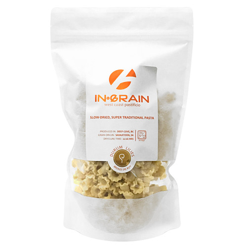 Durum Lillies Traditional Pasta - Slow-Dried, 354g