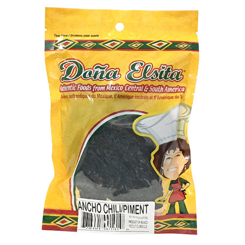 Ancho Chile - Whole Dried, 56g