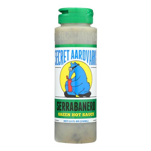 Secret Aardvark Serrabanero Green Hot Sauce, 8oz