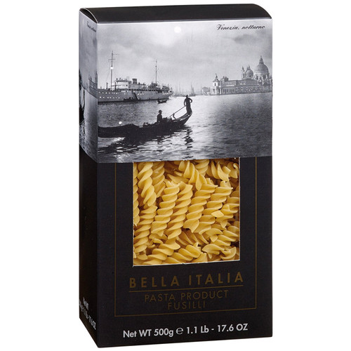 Fusilli Pasta - Bella Italia, 500g