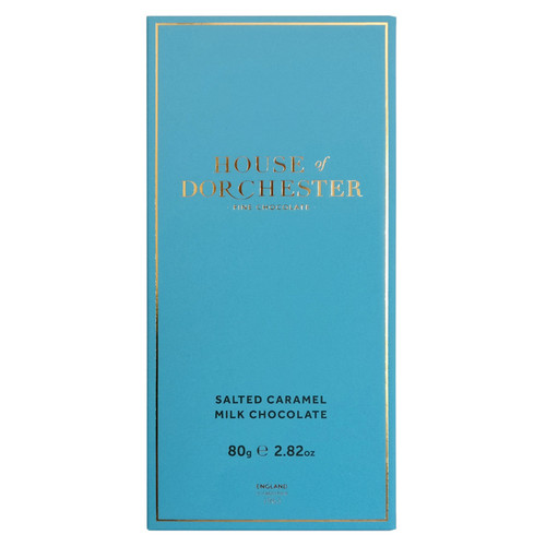 Salted Caramel Milk Chocolate Bar, 80g