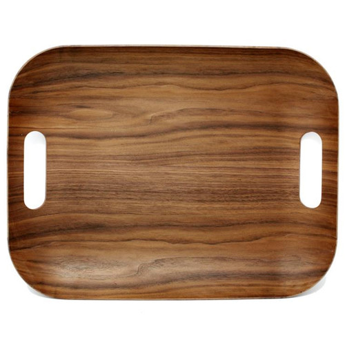 Rectangular Serving Tray - Wood Finish