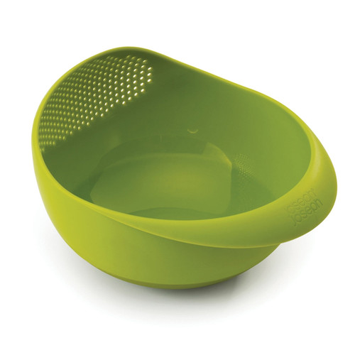 Prep&Serve Multi-Function Bowl with Colander- Green, Small