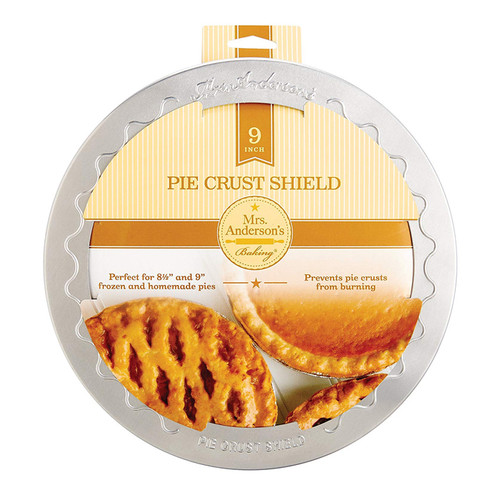 Pie Crust Shield, 9-in