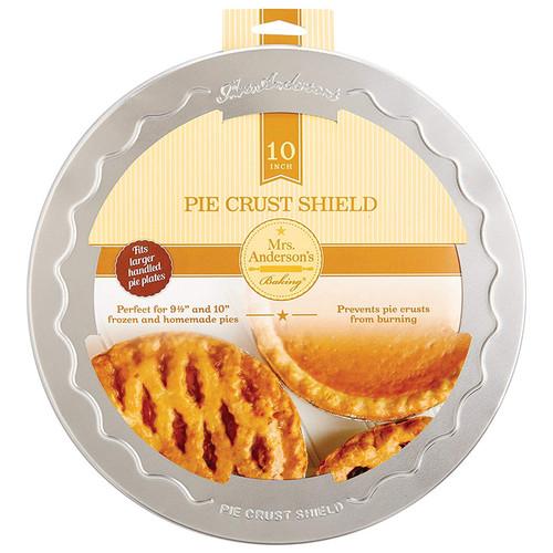 Pie Crust Shield, 10-in