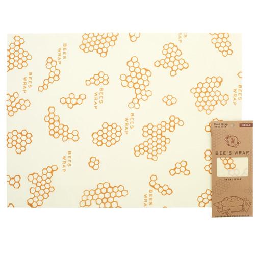 Reusable Food Wrap - Honeycomb Print,  Bread Wrap