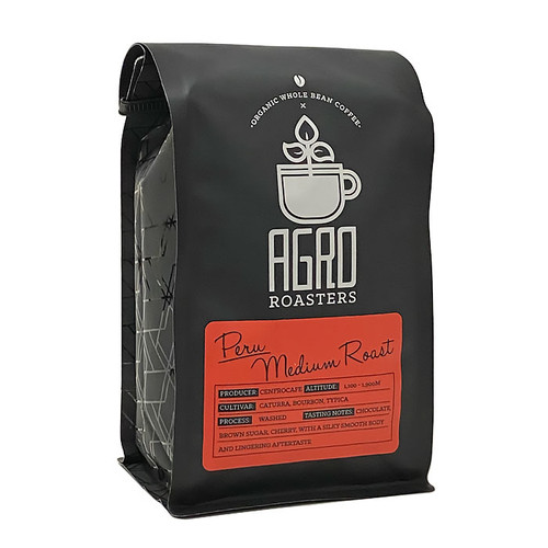 Peru Organic Coffee Bean - Medium Roast, 340g