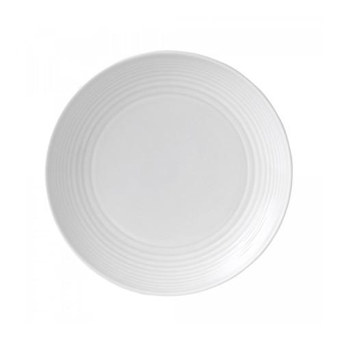 Maze White Salad Plate, 8.7-in