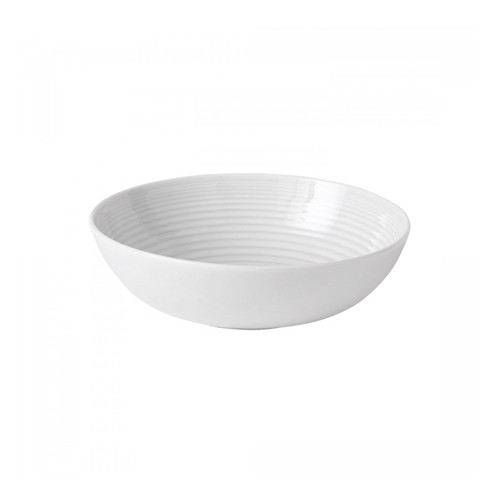 Maze White Cereal Bowl, 7-in