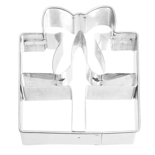 Gift Box Detailed Cookie Cutter, 6.5cm