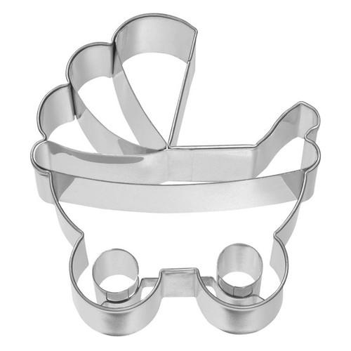 Baby Pram Detailed Cookie Cutter, 7.5cm