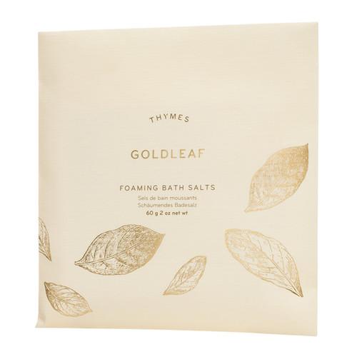 Golddleaf - Foaming Bath Salts Envelope, 60g