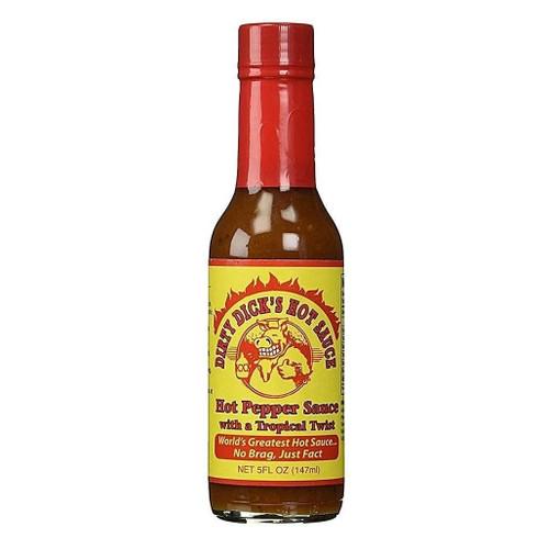Dirty Dick's Hot Pepper Sauce - Tropical Twist, 147ml