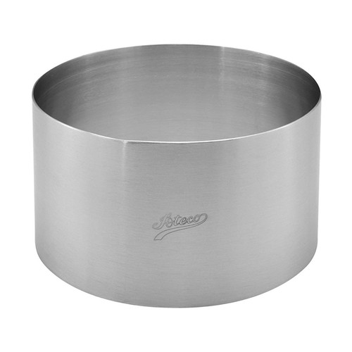 Round Cake Mold - Stainless Steel, 5.5 x 3-in