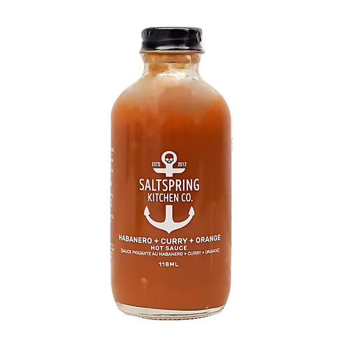 Habanero + Curry + Orange Hot Sauce, 118ml