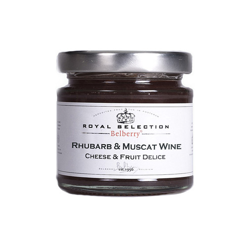Rhubarb & Muscat wine Confit, 130g