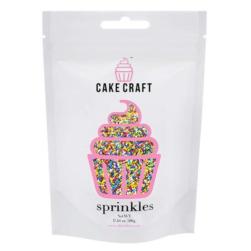 Sprinkles - Rainbow Nonpareils, 500g