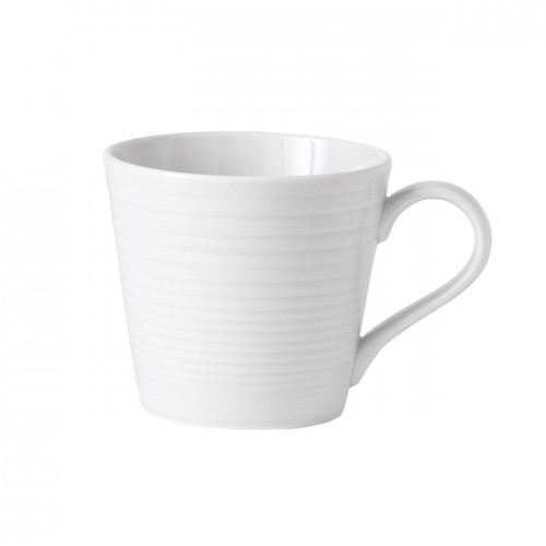 Maze White Mug, 14oz