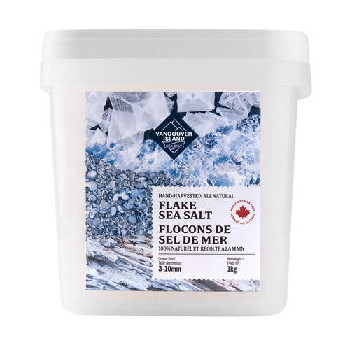 Flake Sea Salt Chef's Bucket - Hand Harvested,  1kg