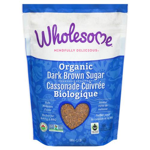 Dark Brown Sugar - Organic Fair Trade, 680g