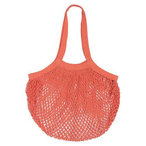 Le Marché Cotton Shopping Bag - Coral