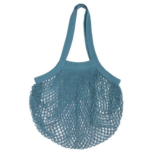 Le Marché Cotton Shopping Bag - Blue