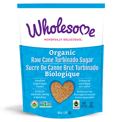 Raw Cane Turbinado Sugar - Organic, 680g