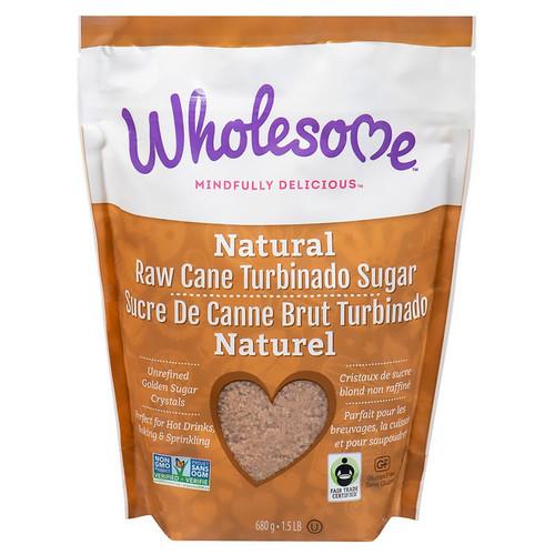 Natural Raw Cane Turbinado Sugar, 680g