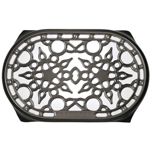 Oyster Deluxe Oval Trivet - Enamelled Cast Iron