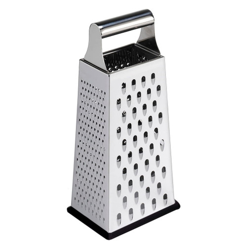 Box Grater - Stainless Steel, 9.5-in