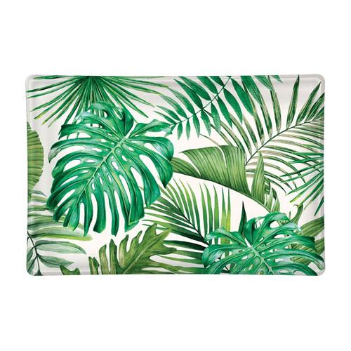 Palm Breeze Glass Soap Dish