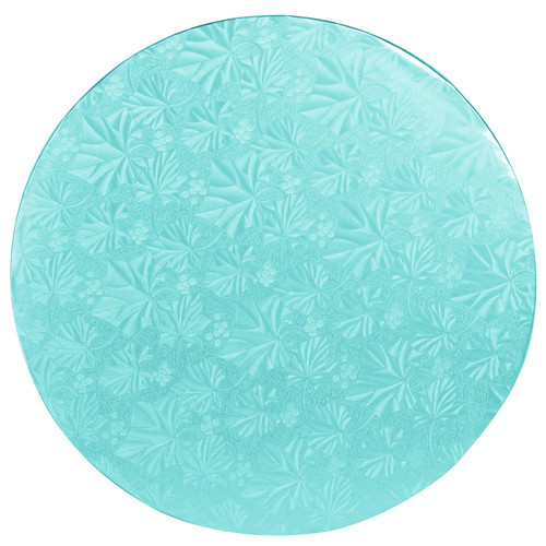 Round Cake Drum - Thick Blue, 12-in