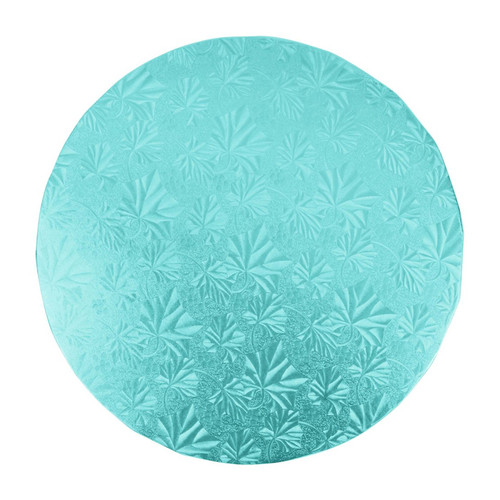Round Cake Drum - Thick Blue, 10-in