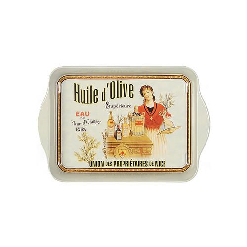 Tin Tray Mini - Huile d'Olive, 14 x 21cm
